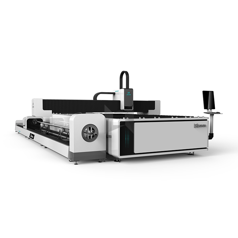 2019 High quality Optical Fiber Cutting Machine – Exchange table fiber optic tube cutter fiber tube cutter fiber laser tube cutting – LXSHOW detail pictures