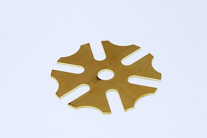 optical fiber cutting machine copper sample