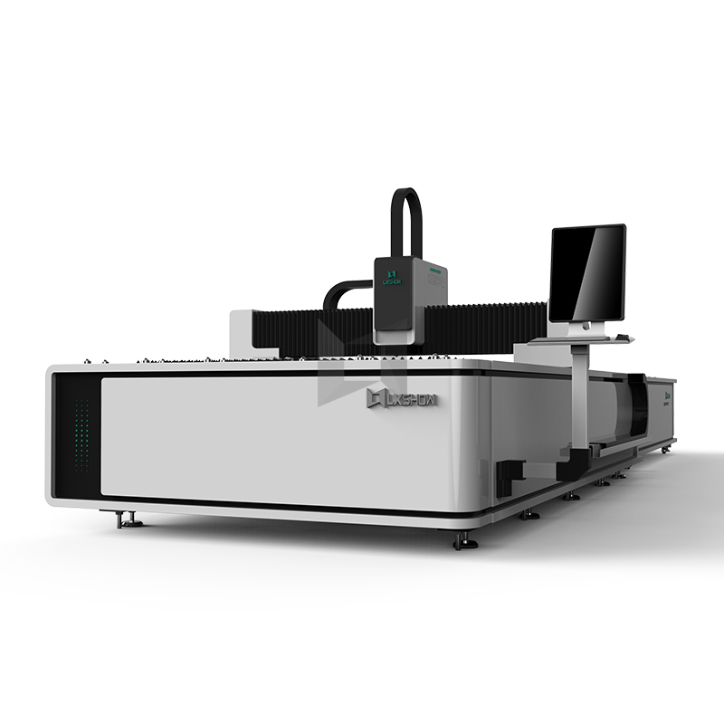 2019 High quality Optical Fiber Cutting Machine – Exchange Table Big Power Fiber laser cutting machine 1530 1540 1560 1500W 2200W 3300W 4000W 8000W  – LXSHOW detail pictures