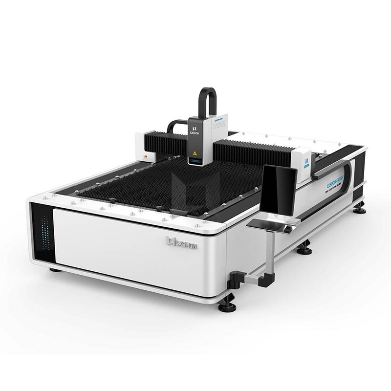 High Quality Fiber Cutting Machine - Hot sale metal sheet / Plate fiber laser cutting machine 1530 500/1000/1500/2200/3300W  – LXSHOW detail pictures