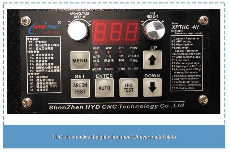 Cnc Plasma стол Air-сууган Torch Application Range долбоорунун аякташын белгилешүүдө