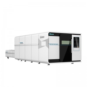 【LXF1530G】Big Power thick metal plate cnc fiber laser cutting machine 1530 fiber laser cutter 1540 1560 with exchange table and cover