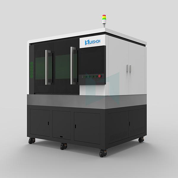 High-Precision-mini-small-fiber-laser-cutting-machine-LXF6060-with-linear-motor-ball-screw-transmission-500w-750w-1000w-1500w