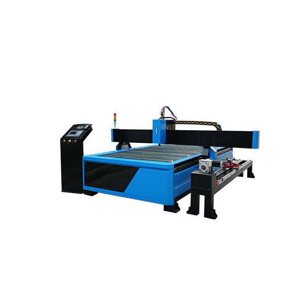 Metal sheet and metal tube metal pipe cnc plasma tube cutting machine 1325 1530 2030 with rotary Featured Image