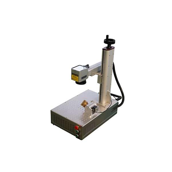 professional factory for Co2 Marking Machine -  Mini Small fiber laser marking machine 20 watt 30 watt 50 watt 100 watt  – LXSHOW Featured Image