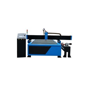 Metal sheet and metal tube metal pipe cnc plasma tube cutting machine 1325 1530 2030 with rotary