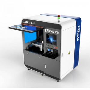【LXF0640】Small Mini fiber laser cutting machine 0640 500W 750W 1000W