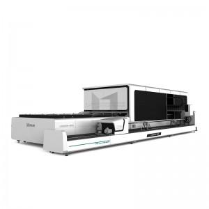 【LXF1530GR】Exchange table Full Cover fiber laser cutting machine tube metal tube fiber laser cutting machine