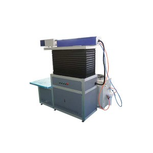 3d dynamic co2 laser marking machine with big size 50w 100w 150w
