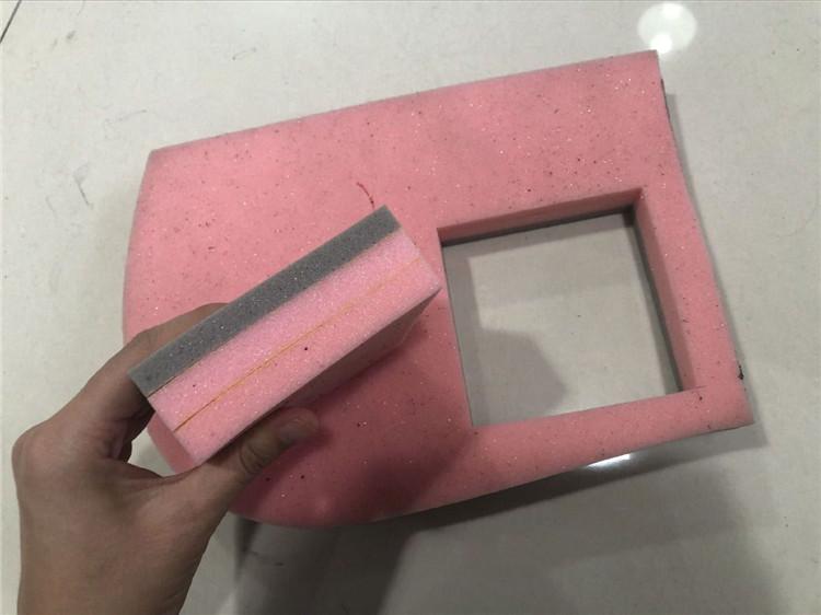 1625 Cnc Vibrating Knife Machine cut foam and flexible materials