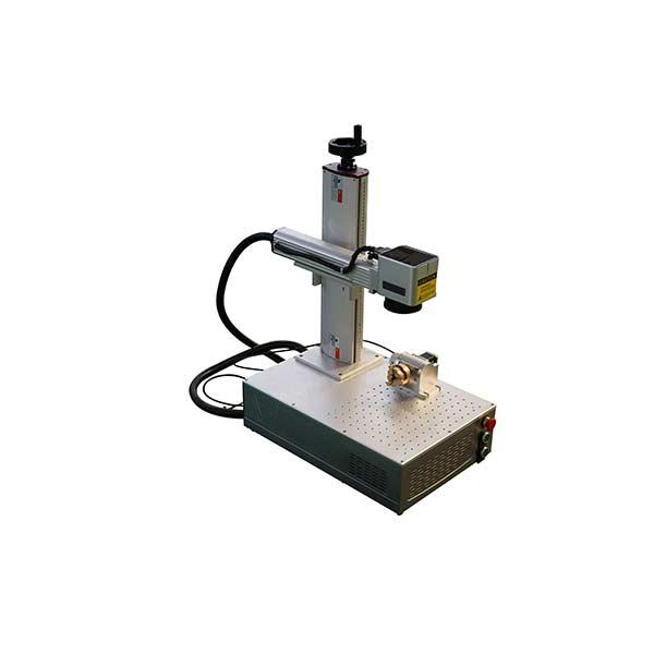 professional factory for Co2 Marking Machine -  Mini Small fiber laser marking machine 20 watt 30 watt 50 watt 100 watt  – LXSHOW detail pictures