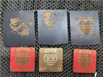 CO2 laser engraving machine engrave on wood