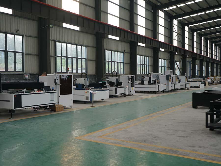 laser machine for metal cutting