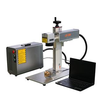 Portable 20w 30w 50w 100w 120w color mopa general Fiber laser marking machine price